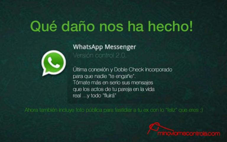 whatsapp que daño
